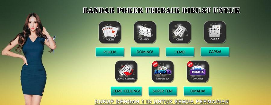 Bandar Poker Terbaik Dibuat Untuk